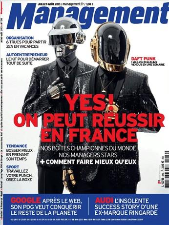 Magazine Management : La france qui réussi