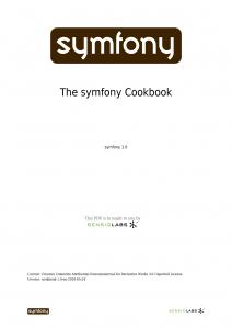 Symfony_cookbook