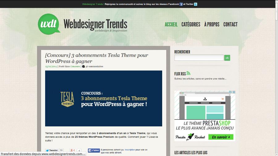 WebdesignerTrends