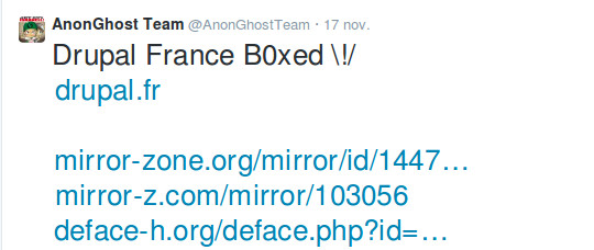 tweet AnonGhost Team
